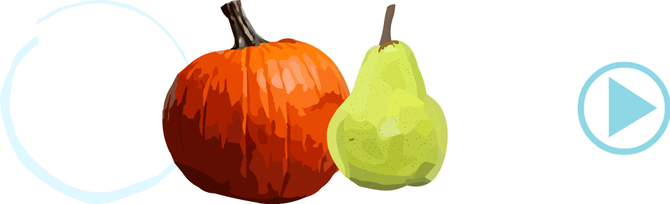 Learn useful Portuguese words for fruit and vegetables. Fun online kids game