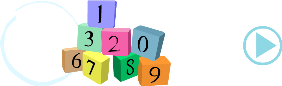 Portuguese numbers quiz for learning to count to 20. Fun kids language learning.